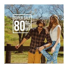 Up to 80% Off! New 3rd Collection RC.  Look 100% Rock Countryᵀᴹ model:  @anderson_dornelles and @daianemeneghel h&m: @dindihojah Photo: @wearealiveagency RC store no Shopping Iguatemi Campinas.