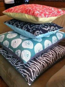 8 ways to make a decorative pillow case