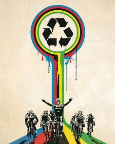 Sustainable Cycling Poster