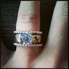Western Wedding Ring In Love With This