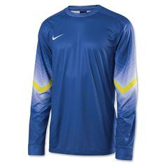 Nike Long Sleeve Goleiro Jersey (Royal)