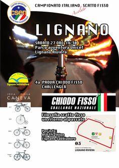 Comunicato Stampa: Il Campionato Italiano Assoluto Scatto Fisso CSEN, approda a Lignano