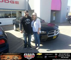 Congratulations to Robert Maney Jr. on your #Dodge #Charger purchase from Bill Reed at Four Stars Auto Ranch! #NewCar