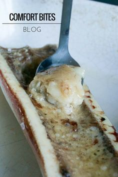 COMFORT BITES BLOG: Roasted Bone Marrow with Sea Salt