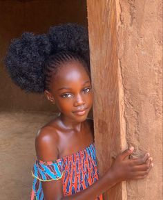 African Girl, African Beauty, African Princess, African Women, Curly Hair Styles, Natural Hair Styles, Collateral Beauty, Beautiful Black Babies, Gorgeous Girl