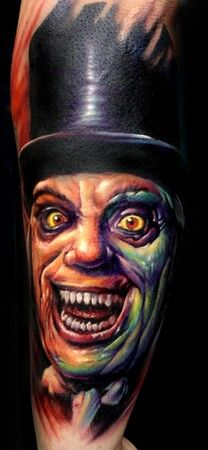 Paul Acker - London After Midnight Tattoo