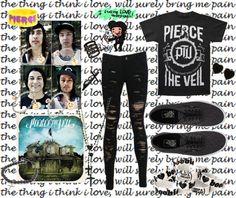 """""""Intoxication, paranoia and a lot of fame."""" by yeah-boy-and-doll-face ❤ liked on Polyvore"""