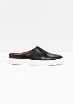 & Other Stories | Leather Slip-in Sneakers