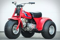 "These were a blast, bit tipsy at speed though. Built prior to the ten-year voluntary ban and the subsequent end of production, this 1984 Honda ATC 70 Three Wheeler is a relic of an earlier time in off-roading. The model's advertisement stated that the ATC 70 was ""not a..."