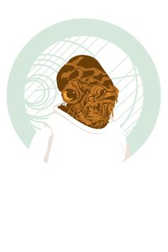 The Admiral by Tracie Ching. It's a trap! Badass Movie, Admiral Ackbar, Star Wars Images, Love Stars, Boba Fett, Star Wars Art, Art Music, Science Fiction, Nerdy