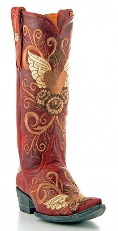 Outside of the red I'm really kind of liking these...Red Old Gringo Cowboy Boot