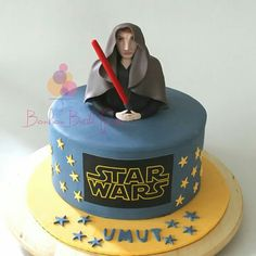 Star Wars cake -anakin skywalker