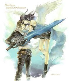 Squall & Rinoa FF8 Source: Crimsonsky.iza-yoi.net