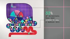 """MTV engaged Buck's collective talents to produce """"Infographica"""" the data-focussed portion of their """"Elect This"""" Campaign. We had carte blanche to get weird, creating a visual stew of issue-based animations. In addition to the custom scripted animations, we created a robust and dynamic Infographic template system, so the team at MTV could plug in facts and figures to easily release regular and timely videos about the issues their viewers care about. Issues like Gay Marriage and Social…"""