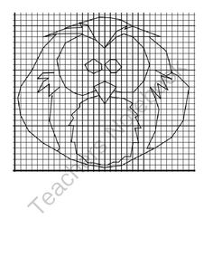 Owl Graph from DawnMBrown on TeachersNotebook.com -  (2 pages)  - Coordinates for graphing an owl, coordinates are only in the first quadrant and do include half measurements