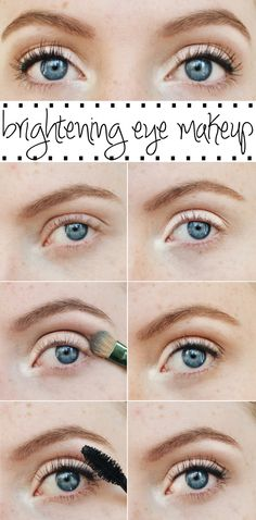 Brightening Eye Makeup | Using the Naked Palette (via Chic Now)