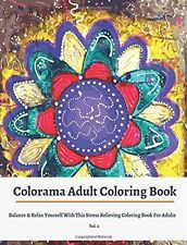 Colorama Adult Coloring Books by Coloring Books For Adults  (paperback)  NEW