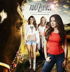 """TELEVISA presenta su nueva telenovela con una gran elenco y una gran historia, donde se conjugan tres historias de tres hermosas mujeres llamadas: """"Las Amazonas""""."""