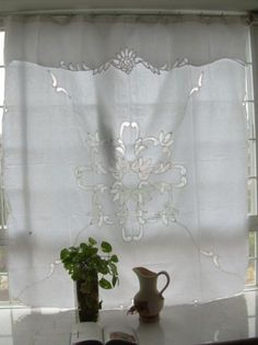 19 Window Coverings Battenburg Lace Ideas