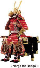 Gogatsu Ningyo Doll diagonal view