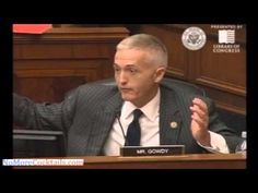 Watch Trey Gowdy's Explosive Question About Obama Refusing to Obey the Law - YouTube BAMMMMM Gowdy strikes again....and proves that Obama is covering up!!!!