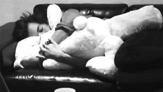 When he cuddled a teddy bear: | Community Post: 29 Times Harry Styles Was Actually The Cutest
