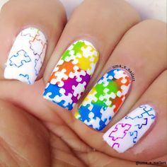 Autism Awareness Nails...