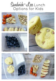 Quick, easy and delicious sandwich-less school lunch recipes #ChooseSmart #ad