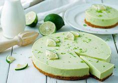 Cheesecake com limão e abacate
