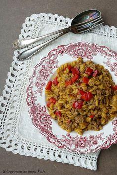 Experimente aus meiner Küche: One Pot Pasta mit Hackfleisch und Paprika One Pot Wonders, Healthy Recepies, Always Hungry, One Pot Pasta, Homemade Pasta, Pasta Recipes, Ham Recipes, Yams, Gnocchi