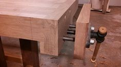 Roubo Schmoobo- A hybrid approach to that massive dovetailed bench #3: Stretchers, Vises, Finishing up - by BigRedKnothead @ LumberJocks.com ~ woodworking community