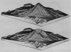 USGS C 1050 -- Into the Second Century -  Digital maps of Mount St. Helens before and after the eruption of May 18, 1980.