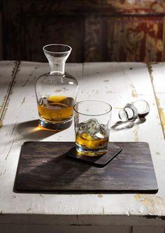 Spode Glen Lodge Hirsch Glaskaraffe und Whiskey-Glas http://www.kippax.de/Geschirr/Spode/