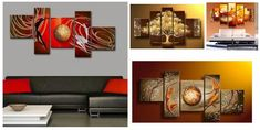 5 Piece Canvas Paintings for Sale, Buy Heavy Texture Paintings Online – artworkcanvas Living Room Canvas Painting, Hand Painting Art, Living Room Paint, Acrylic Painting Canvas, Abstract Canvas, Large Paintings For Sale, Multiple Canvas Paintings, Modern Paintings, Paintings Online