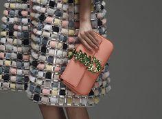 whore-for-couture: monsieur-j: Fendi Pre-Fall 2015 Haute. Fashion Details, Love Fashion, Runway Fashion, High Fashion, Womens Fashion, Fashion Design, Fashion Trends, Couture Fashion, Dior Couture