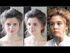 Vintage Hairstyles Tutorial Anne Shirley (Anne of Green Gables) 1800s Hairstyles, Edwardian Hairstyles, Retro Hairstyles, Girl Hairstyles, Wedding Hairstyles, Historical Hairstyles, Homecoming Hairstyles, Party Hairstyles, Belle Epoque