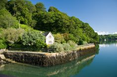 Quay Cottage: Found on the River Fal near Truro in Cornwall, this cottage gives you the thrill of living right on the water's edge.