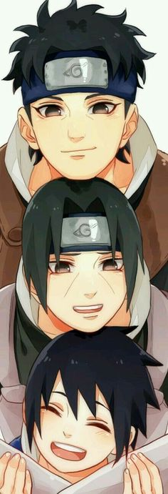 The Uchiha boys: Shisui, Itachi and Sasuke. Naruto =w= Naruto Wallpaper, Cartoon Wallpaper, Wallpapers Naruto, Wallpaper Naruto Shippuden, Animes Wallpapers, Madara Uchiha Wallpapers, Itachi Uchiha, Naruto Shippuden Sasuke, Gaara