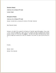 Complaint letter about damaged luggage download at httpwww 40 official letter templates for everyone spiritdancerdesigns Images