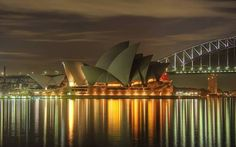 Sydney Wallpaper Australia World Wallpapers) – Wallpapers HD Sydney Australia, Australia Travel, Australia Wallpaper, Places Ive Been, Places To Go, Inspirational Wallpapers, Night City, Adventure Is Out There, Contemporary Architecture