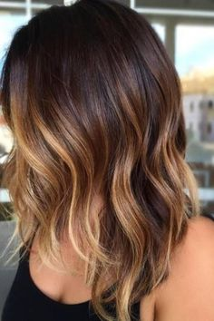 20 Tiger Eye Hair Ideas to Hold Onto Dark+Brown+Bob+With+Caramel+Balayage – Farbige Haare Tiger Eye Hair Color, Ombre Hair Color, Hair Color Balayage, Cool Hair Color, Blonde Color, Balayage Hair Brunette Medium, Auburn Balayage, Brown Ombre Hair Medium, Eye Color