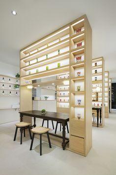 BEAUTY LIBRARY / 図書室のようなオーガニックコスメのショップとカフェ for Nature's Way