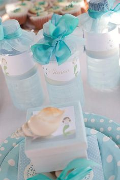 Mermaid Theme: The bottles
