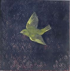 Greenfinch III, 2014 by Melanie Miller at the Long & Ryle contemporary art gallery Greenfinch, Contemporary Art, Art Gallery, Finches, Paintings, Oil, Black, Art, Art Museum
