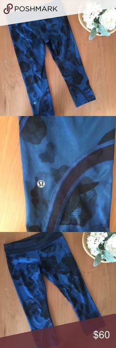 NWOT RARE Lululemon Crop Luxtreme Brand new without tags! Never worn! No stains or holes. Smoke and pet free home. No trades. Reasonable offers welcome! Also, if you want to save on shipping, bundle and save 15%! lululemon athletica Pants Leggings