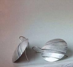Silber Ohrringe von Donauluft auf Etsy, €62.00
