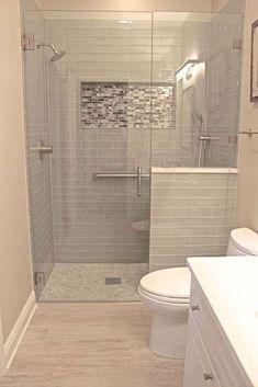 62 Super Ideas for small bathroom shower remodel ideas master bath Bad Inspiration, Bathroom Inspiration, Bathroom Ideas, Bathroom Small, Shower Ideas, Bathroom Modern, Bathroom Storage, Simple Bathroom, Bath Ideas