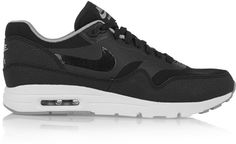 Nike Air Max 1 Ultra Essentials Leather and Mesh Sneakers
