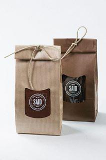 ♂ Creative Packaging Design - Simple brown bags