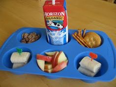 muffin tin lunch ideas.  So stinkin' cute!